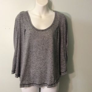 Women's We The Free Blouse Gray PS
